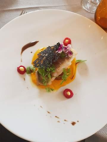 Carte du restaurant gastronomique de Didier Bergey à Cadillac